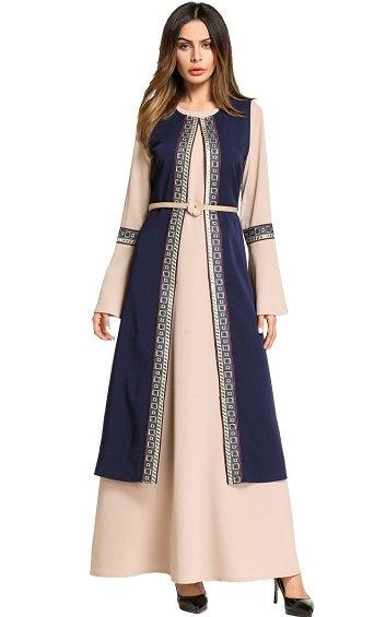 Muslima - Abaya Dress - MZZA5784