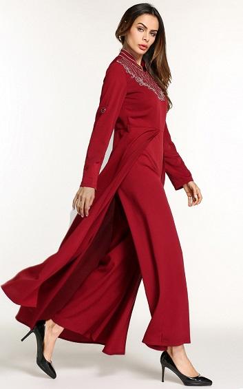 Muslima - Abaya Dress - MZZA5796
