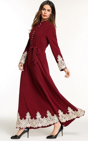 Muslima - Abaya Dress - MZZA5814
