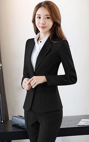 4.5✮- Professional Suit (Coat+Pants/Skirts) - FOBC929 Ready Stock