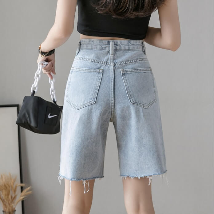 4✮- Denim Shorts - JFFS47407