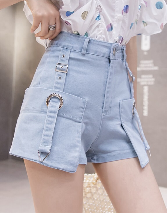 4✮- Denim Shorts - JSFRS3126