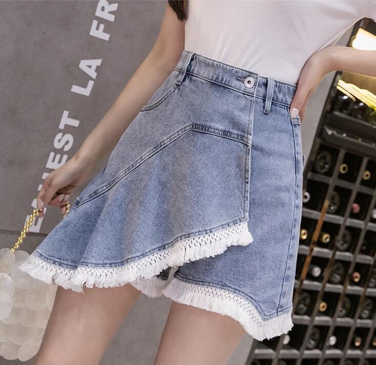 4✮- Denim Shorts - JWFRS7717