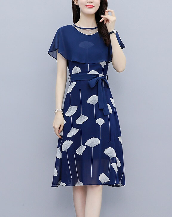 4✮- Knee Dress - JYFRS11026