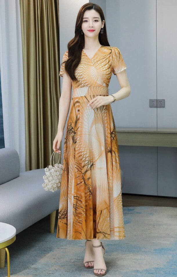 4✮- Midi Dress - JYFRS11040
