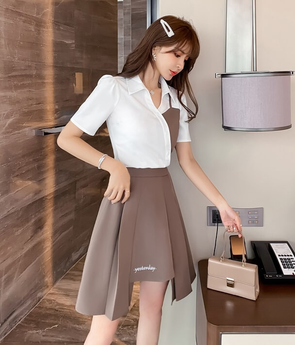 4✮- Dress (Top+Skirt) - JYFRS11076