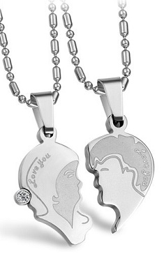 Couple Necklace (1 Set) - SSJ010