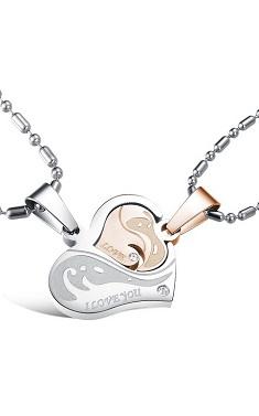 Couple Necklace (1 Set) - SSJ012
