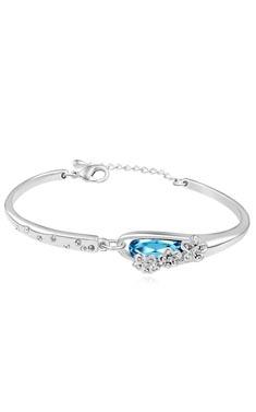 White Gold / Crystal - Bracelet  - YSJ035